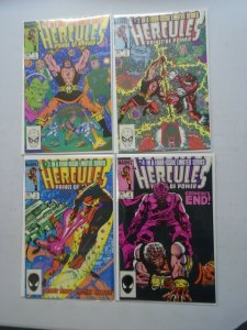 Hercules set #1-4 Direct editions 6.0 FN (1984 2nd Series)