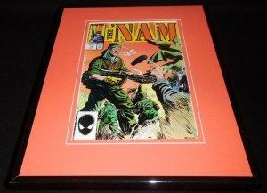 The Nam #14 1987 Framed 11x14 ORIGINAL Comic Book Cover Marvel