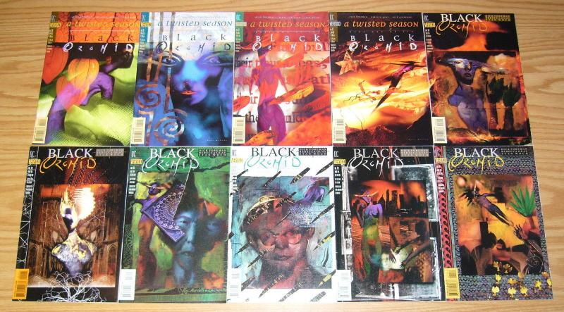 Black Orchid #1-22 VF/NM complete series + annual + neil gaiman mini-series 1-3
