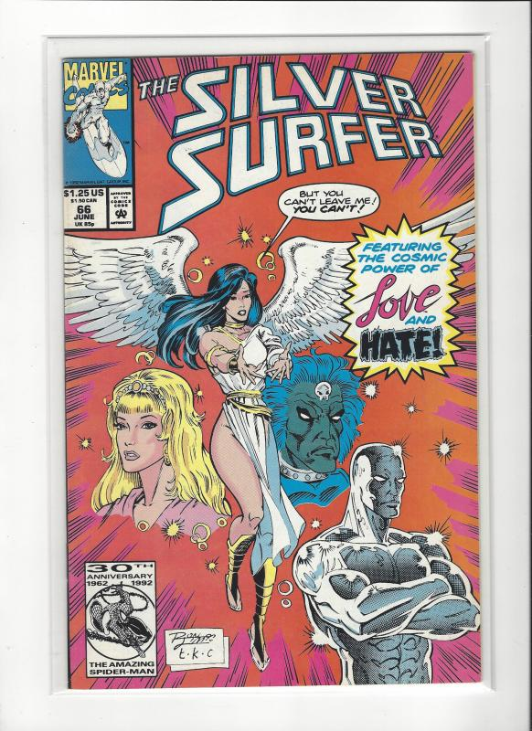 Silver Surfer #66 Marvel Comics Ron Lim NM