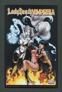 Lady Death Vampirella  Dark Hearts #1  /   9.6 NM+   /  March  1999