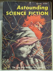 Astounding Science Fiction April 1955 Volume LV #2