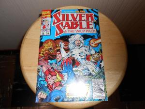Silver Sable and the Wild Pack (1992) #8 Jan 1993 Cover price $1.25 Marvel