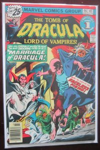 The Tomb of Dracula Lord of Vampires #46 4.0 VG (1976)