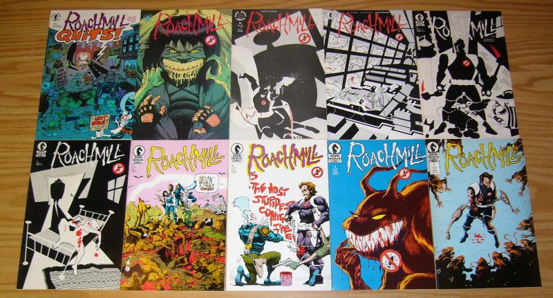 Roachmill vol. 2 #1-10 VF/NM complete series - dark horse comics science fiction