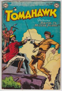 Tomahawk #18 (July 1953) 1.0 FR DC Western