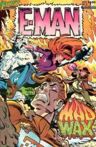 E-Man (2nd Series) #8 VF/NM; First | save on shipping - details inside