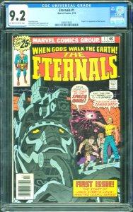 ETERNALS, THE (1976-78) #1, CGC NM-: 9.2