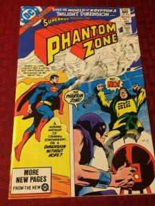 Phantom Zone #1 DC Comics (1982) NM World of Krypton Twilight Dimension