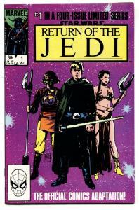 STAR WARS: RETURN OF THE JEDI #1-Marvel comic book WILLIAMSON ART