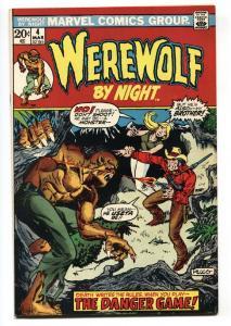 Werewolf By Night #4 comic book Marvel-Mike Ploog
