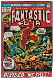 FANTASTIC FOUR 128 VG  Nov. 1972