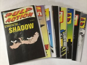 Pulp Action 1-8 1 2 3 4 5 6 7 8 Lot Set Run Nm- Near Mint- ACG