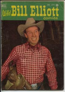 Wild Bill Elliott #6 1951-Dell-B-Western movie star photo cover-Bob Jenny-VG