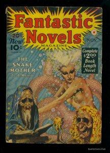 Fantastic Novels #3 GD/VG 3.0 November 1940