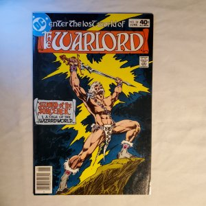 Warlord 34 Fine Cover by Mike Grell