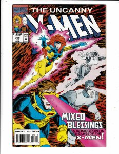 THE UNCANNY X-MEN#308 VF/FN   NO RESERVE Save on shipping