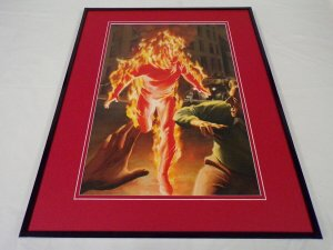 Marvels #1 Human Torch Framed 16x20 Cover Poster Display Alex Ross