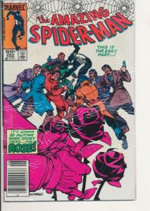 Marvel Amazing Spider-Man #253 Very Fine (8.0) (899J)