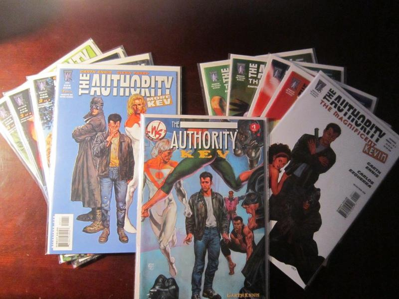 The Authority Kev Lot - VF - 2002-2004-2006