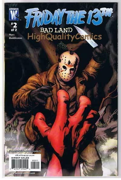 FRIDAY the 13th Bad Land #2,  VF/NM, Horror, Ron Marz, 2008, more in store