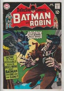 Detective Comics #386 (Apr-69) FN/VF Mid-High-Grade Batman, Robin the Boy Wonder