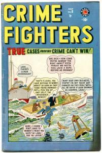 Crime Fighters #8 1949- Marvel Golden Age- FN-