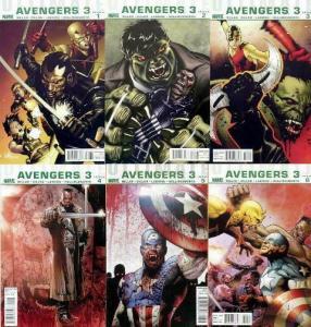 ULTIMATE AVENGERS 3 (2009) 1-6 Blade VS Avengers