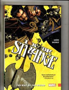 Doctor Strange Vol. # 1 Way Weird Marvel Comic Book HARDCOVER Graphic Novel J346