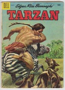 Tarzan #71 (Aug 1955) VG- Dell