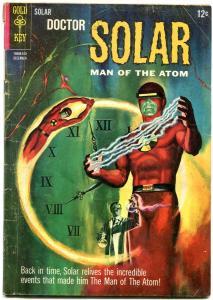 DOCTOR SOLAR MAN OF THE ATOM #15 1965-GOLD KEY TIME TRV G