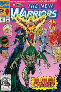 New Warriors (1990 series) #29, VF+ (Stock photo)