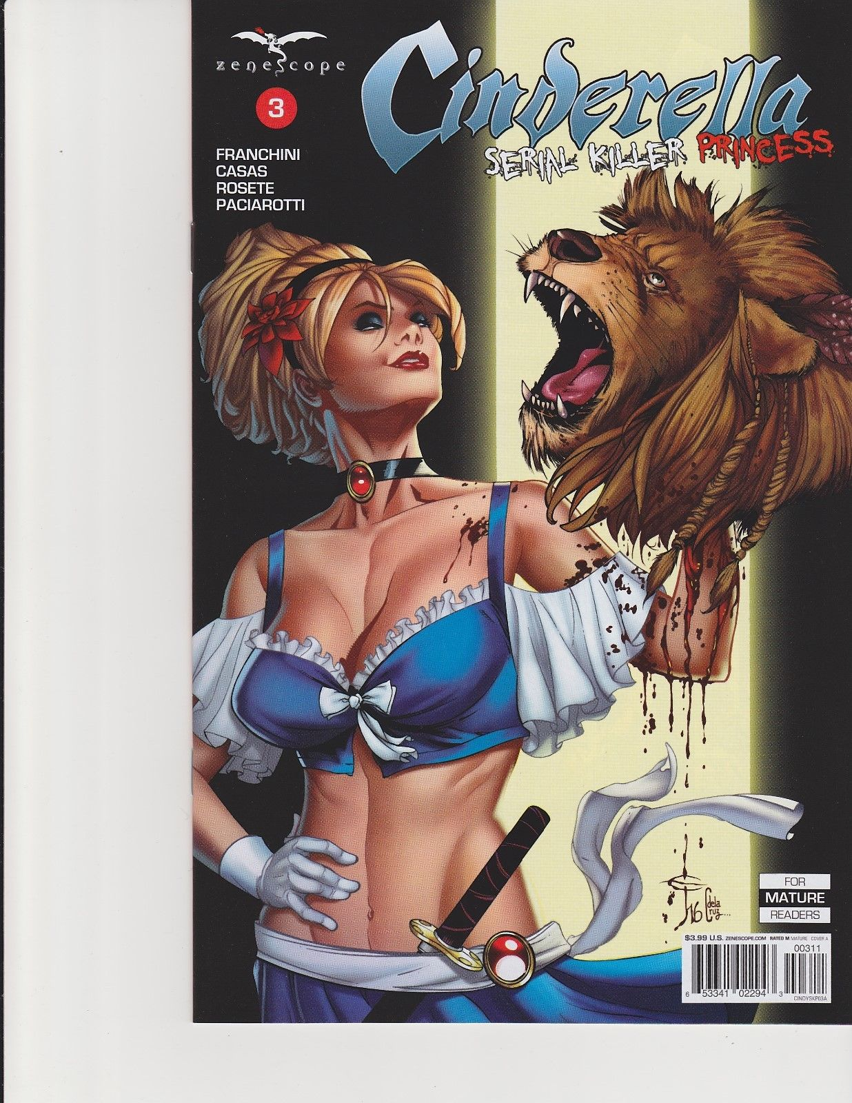 Wonderland #28 Cover A GFT Zenescope NM Mychaels