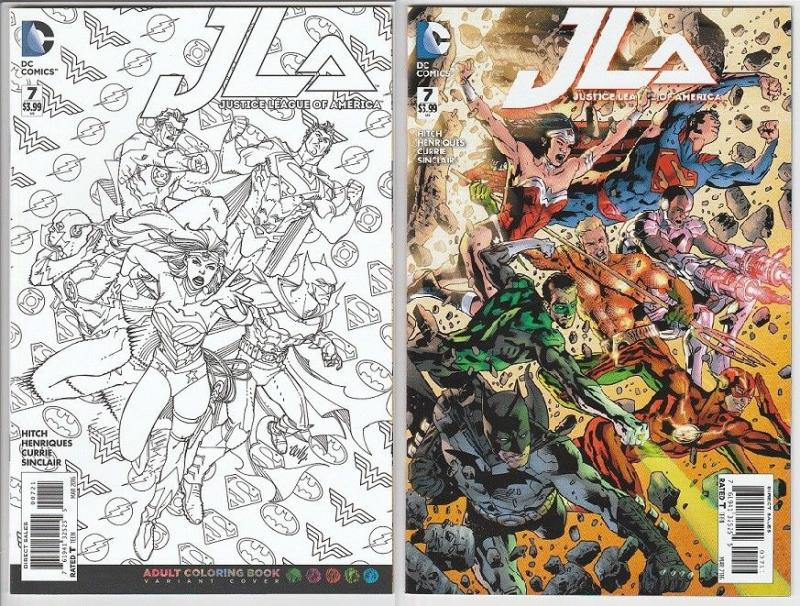 Justice League Of America 7 Set Of 2 9 4 Nm Regular And