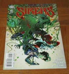 Gotham City Sirens #15 NM/NM+ 9.4~9.6 DC Comic Harley Quinn Catwoman Poison Ivy