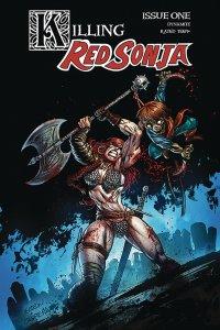 Killing Red Sonja #1 Cvr B Gedeon Zombie Variant (Dynamite, 2020) NM