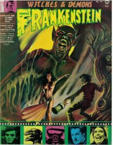 CASTLE OF FRANKENSTEIN 15 VG CHRIS LEE,Karloff copy A