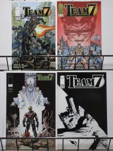 TEAM 7 (1994 IM) 1(BLACK TITLE LOGO),2-4 THE SET!