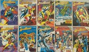 Captain thunder and blue bolt set:#1-10 8.5 VF+ (1987-88)