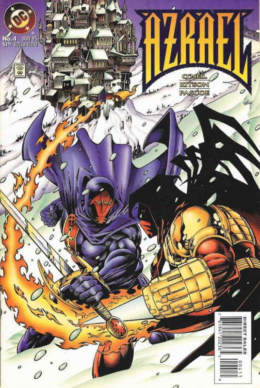 Azrael #4 VF/NM; DC | save on shipping - details inside