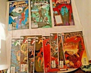 Lot of 11 Robin # 51 - 171 DC 1998 - 2008 Comic Book Lot