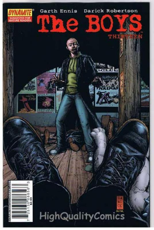 THE BOYS #13, NM+, Garth Ennis, Darick Robertson, 2006, more in store