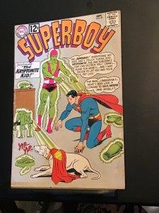 Superboy #99 (1962) Wow! Kryptonite kid cover, krypto key! FN