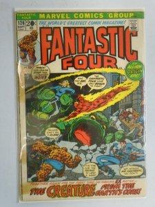 Fantastic Four #126 Reader copy 2.0 GD cover detached (1972 1st Series)