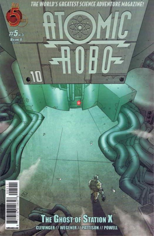 Atomic Robo and the Ghost of Station X #5 VF/NM; Red 5 | save on shipping - deta