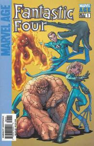 Marvel Age Fantastic Four #1 VF/NM; Marvel | save on shipping - details inside