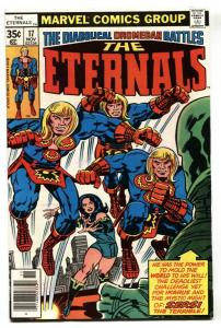 THE ETERNALS #17 1st Sigmar-JACK KIRBY-MARVEL 1977