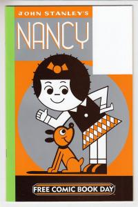 John Stanley Nancy Drawn and Quarterly Unstamped NM- FCBD 2009