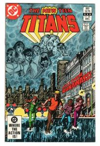 The New Teen Titans #26 1982 George Perez- First appearance of TERRA