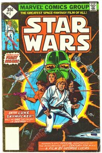 Star Wars #1 35 cent Whitman edition